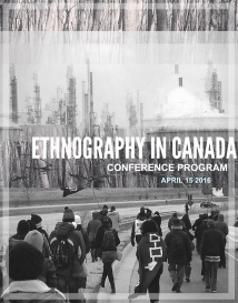 Ethnography in Canada 2016 - Program Cover
