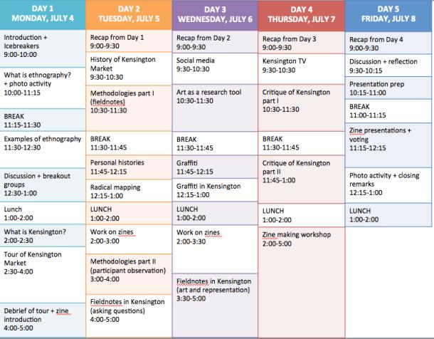 elhsp schedule