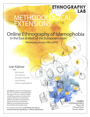 Online Ethnography of Islamophobia in the East & West of the European Union