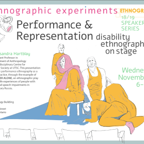 Performance and Representation: Disability Ethnography onStage
