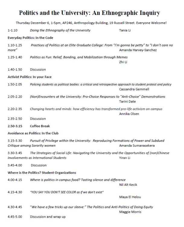 Conference Program Ethno of Univ 2018