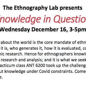 """Knowledge in Question"" Virtual Event"